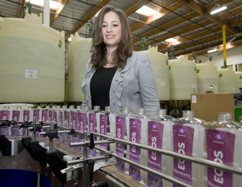 Kelly Vlahakis-Hanks, CEO of Earth Friendly Productss