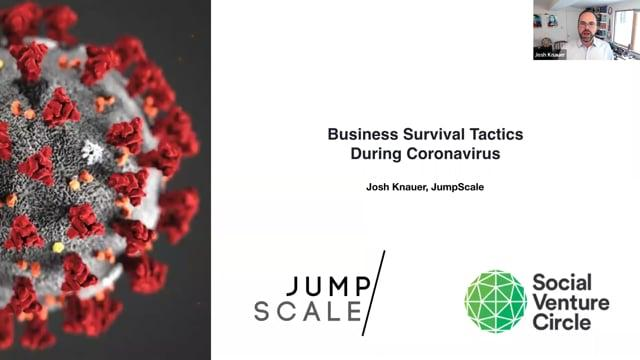 Business Survival Tactics During Coronavirus