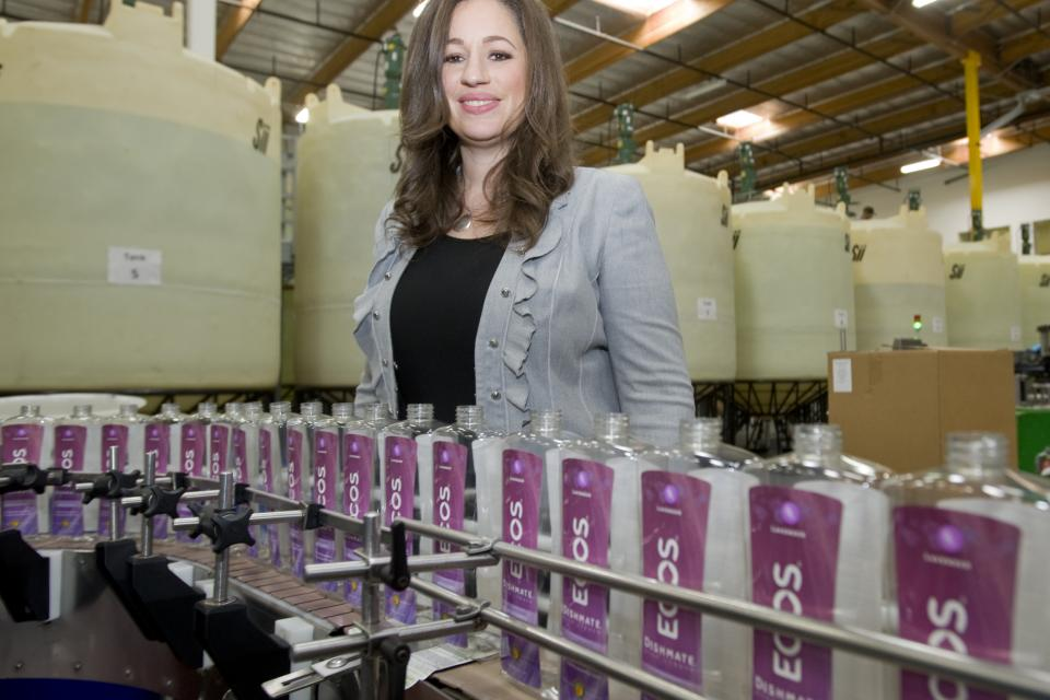Kelly Vlahakis-Hanks, CEO of Earth Friendly Productss