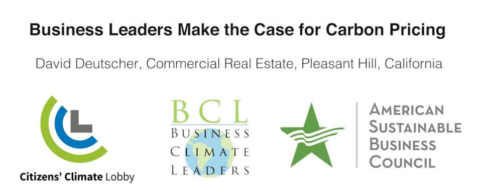 Business Leaders Speaking out for Carbon Pricing